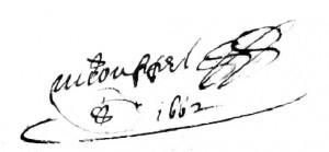 Couppel de La Chauvinière Michel 1662 s